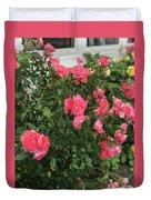 Winery Roses  Duvet Cover