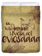 Wingardium Duvet Cover