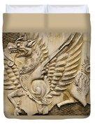 Winged Dragon Duvet Cover