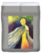 Winged Goddess Update Duvet Cover