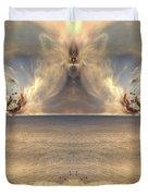 Winged Warrior Duvet Cover