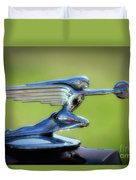 Winged Woman Duvet Cover