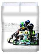 Wingham Go Karts 09 Duvet Cover