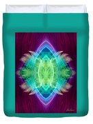 Wings Of Consciousness Duvet Cover