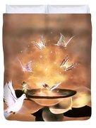 Wings Of Magic Duvet Cover