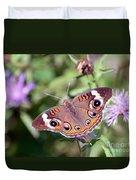 Wings Of Wonder - Common Buckeye Butterfly Duvet Cover
