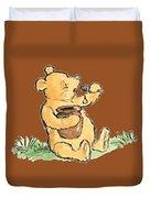 Winnie The Pooh T-shirt Duvet Cover