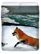 Winslow Homer's, 1893 ' The Fox Hunt ', Revisited 2016 Duvet Cover