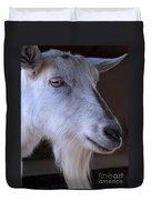 Winsome Goat Duvet Cover