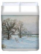 Winte Evening Duvet Cover