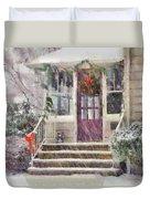 Winter - Christmas - Silent Day  Duvet Cover