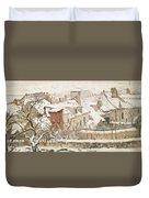 Winter, 1872  Duvet Cover