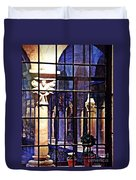 Winter Afternoon At The Cloisters 4 Duvet Cover