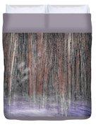 Winter Aspen Duvet Cover
