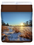 Winter At Mayne's Duvet Cover