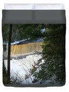 Winter At Tahquamenon Duvet Cover