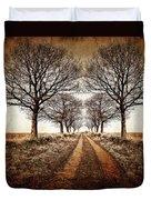 Winter Avenue Duvet Cover