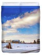Winter Barn 3 Duvet Cover
