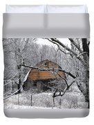 Winter Barn Iv Duvet Cover