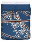 Winter Blue Duvet Cover