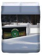 Winter Break Duvet Cover