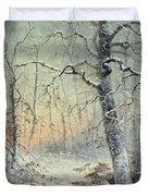 Winter Breakfast Duvet Cover
