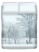 Winter Chill Duvet Cover