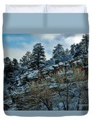 Winter Cliff Duvet Cover