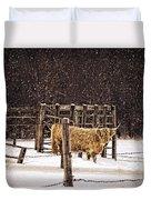 Winter Coat Duvet Cover