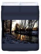Winter Creek H B Duvet Cover