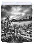 Winter Crossing Duvet Cover