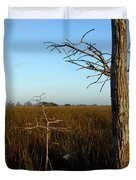 Winter Cypress Duvet Cover