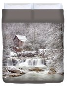 Winter Day At The Mill  Duvet Cover