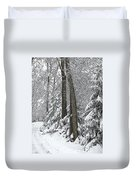 Winter Drive Duvet Cover