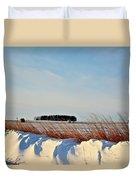 Winter Dunes Duvet Cover