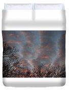 Winter Dusk Duvet Cover