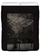 Winter Dusk Duvet Cover