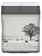 Winter Field Duvet Cover
