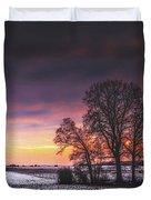 Winter Fields Duvet Cover