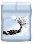 Winter Finery Duvet Cover