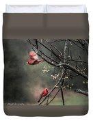 Winter Flight  Duvet Cover by Kim Loftis