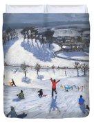Winter Fun Duvet Cover