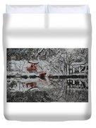 Winter Garden Duvet Cover