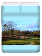 Winter Golf Duvet Cover
