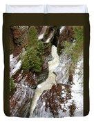 Winter Gorge Duvet Cover