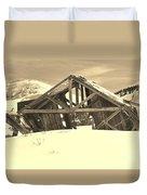 Winter History 2 Duvet Cover