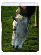 Winter Horse 4 Duvet Cover