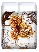 Winter Hydrangea Duvet Cover