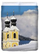 Winter Illusion Duvet Cover