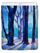 Winter Impression Duvet Cover